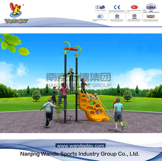 Climbing Wall Outdoor Plastic Playset for Children