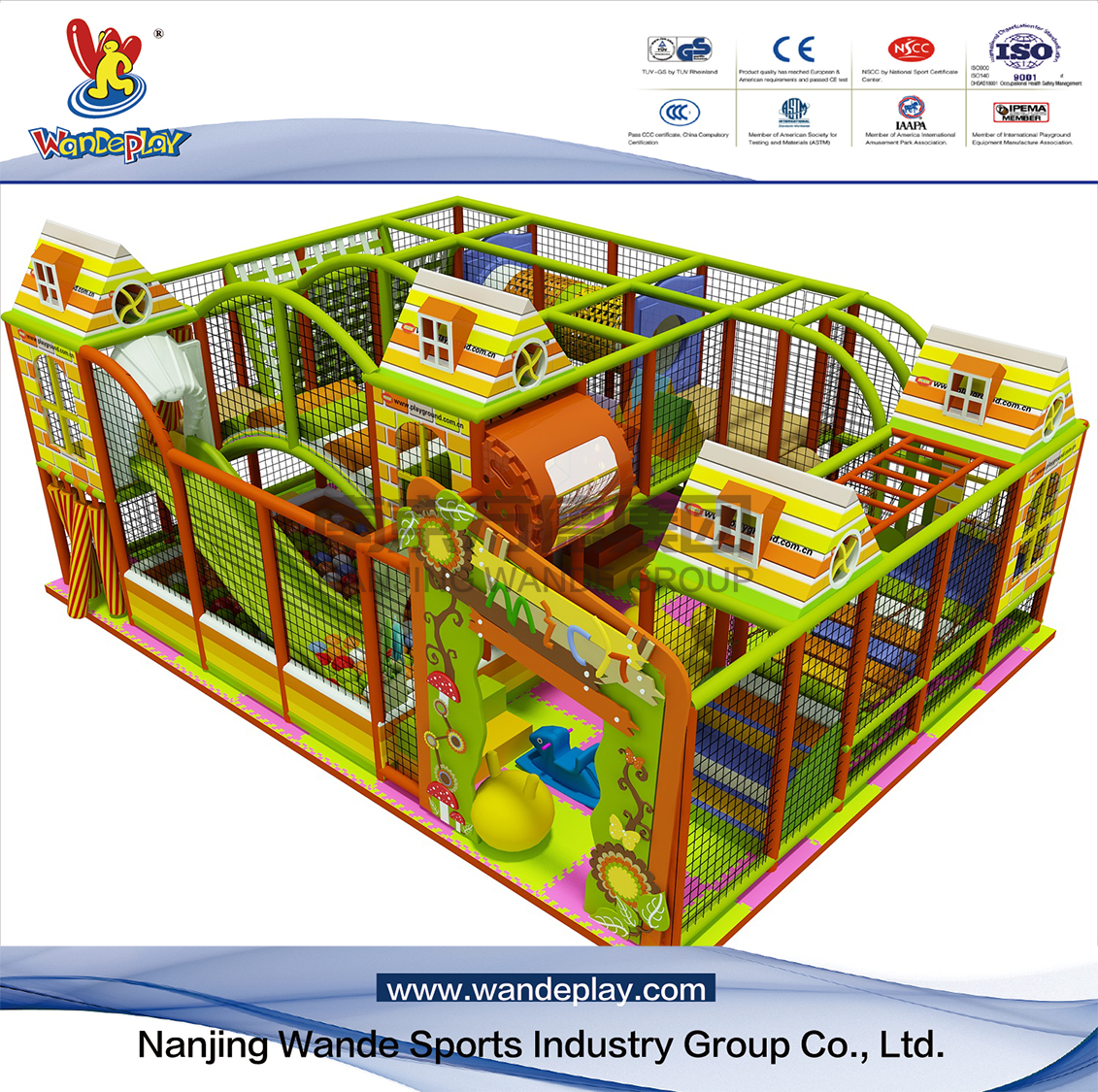 Adventure Castle Kids Indoor Playground in Shopping Mall