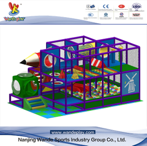 Castle Adventure Kids Indoor Playground in Shopping Mall