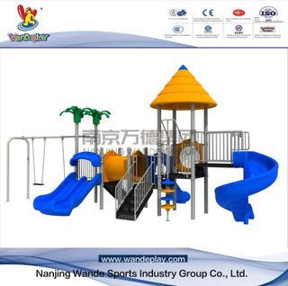 Amusement Park Classical Playset with Outdoor Swing