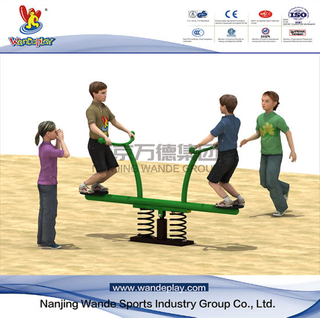 Public Kids Rocking Seesaw Outdoor Playground Equipment