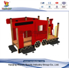 Outdoor Playground Wooden Train Play Set for Kids