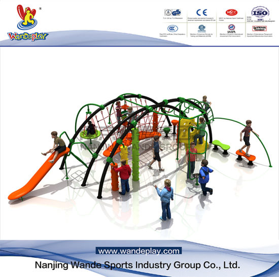 Outdoor Climbing Rope Netting Grid for Kids