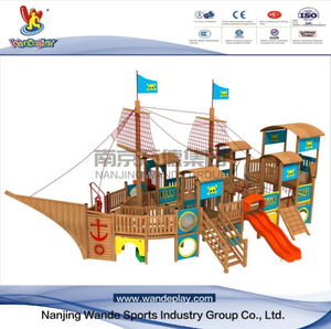 Outdoor Children Wooden Customized Playset