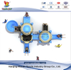 Residential Aircraft Playset Outdoor Slides