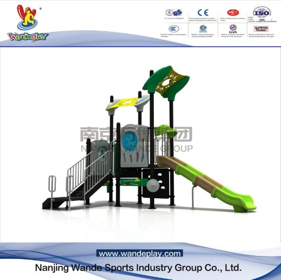 Outdoor Modern Playground for Toddlers with Slide