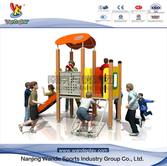 Children Outdoor Playground Equipment PE Playset