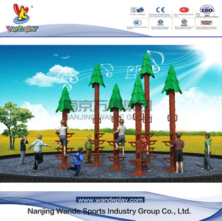 Wandeplay Sequoia Climbing Amusement Park Children Outdoor Playground Equipment with Wd-HP105
