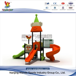 Outdoor Cartoon Playground Equipment for Toddlers in Backyard