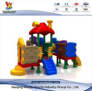 Plastic Indoor Playground Equipment Comprehensive Toys
