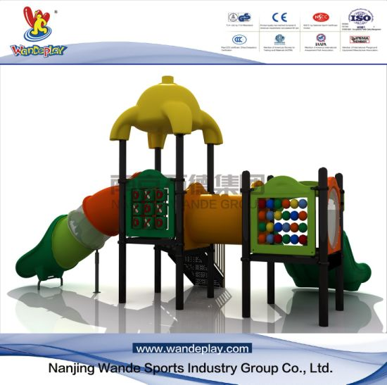 Residential Cartoon Playground Equipment for Toddlers with Slides