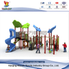 Outdoor Sailing Playground with Sildes in Children Park