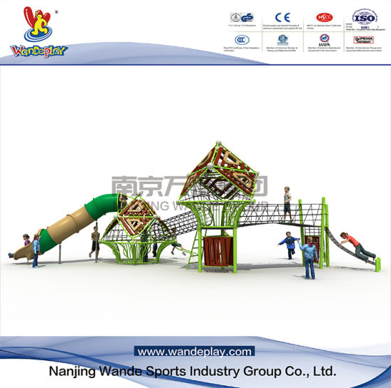 Children Outdoor Nest Climbing Playground Equipment