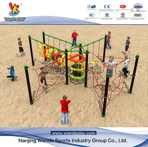 Wandeplay Amusement Park Net Climbing Children Outdoor Playground Equipment with Wd-Sw0209
