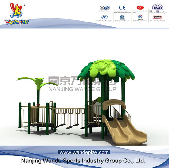 Forest Series Amusement Tree House Playset in The Park