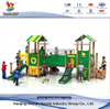 Amusement Park Children Outdoor PE Playset with Tunnel Slide