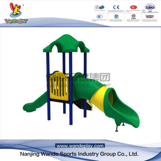 Children Outdoor Classical Playset with Slide