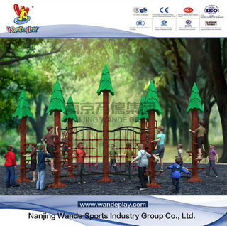Wandeplay Sequoia Climbing Amusement Park Children Outdoor Playground Equipment with Wd-HP102