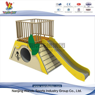 Bee Slide Animal Playset in Backyard for Kids