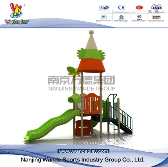 Themed Cartoon Playground Equipment with Slides in Backyard