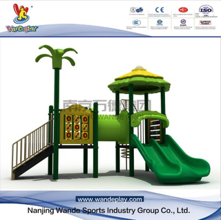 Outdoor Amusement Park Tree House Playset for Kids