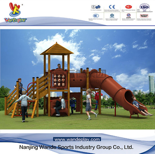 Wooden playset Children Outdoor Playground Equipment