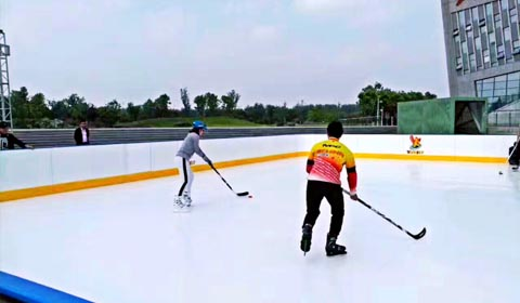 Intelligent ice and snow sports
