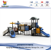 Outdoor Themed Outer Space Playground Equipment with Slide