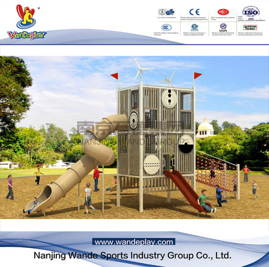 Children Outdoor Modular Play System for Amusement Park