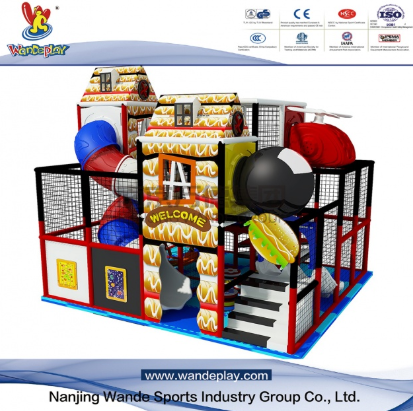 How to ensure the safety of baby indoor playground equipment?
