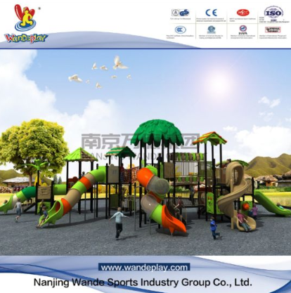 The projects of WANDE playground equipment