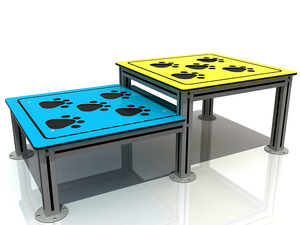 Outdoor Dog Park Staying Table Exercise Equipment for Pets Training