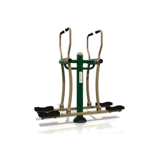 Outdoor Double Flat Walker Fitness Equipment For Adults