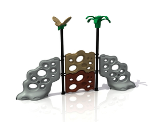 Outdoor Children Playground Rock Climbing Holds Playset for Amusement Park
