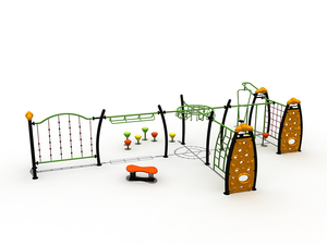 Professional Amusement Park Outdoor Teenager Climbing Playground Playset