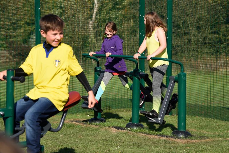 What types of park fitness equipment are there?