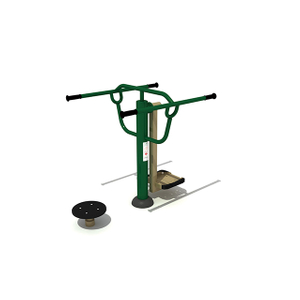 Mini Ski And Waist Twister Combination Outdoor Fitness Equipment