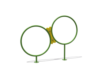Outdoor Playground Doggie Hoop Jumping Equipment for Pets Park