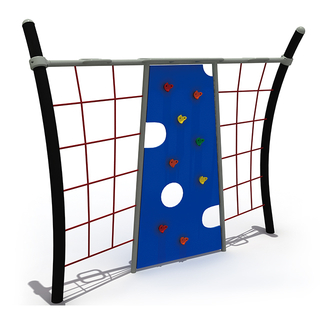 Outdoor Park Obstacle Race Playground Rock Climbing Net for School