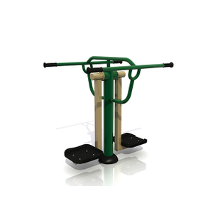 Outdoor Double Slalom Skier Fitness Equipment For Adults